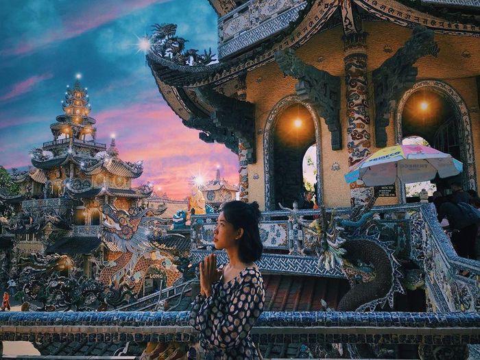 Địa điểm đẹp Đà Lạt - chùa Linh Phước
