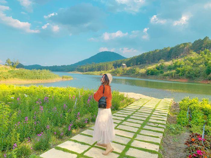 Khí hậu Đà Lạt mùa xuân thích hợp du lịch