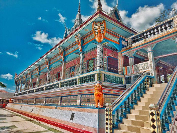 Ngôi chùa với kiến trúc tuyệt đẹp