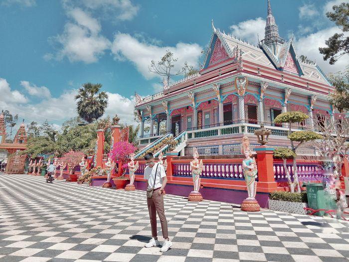 Gợi ý tour miền tây 3 ngày 2 đêm tham quan chùa Chén Kiểu