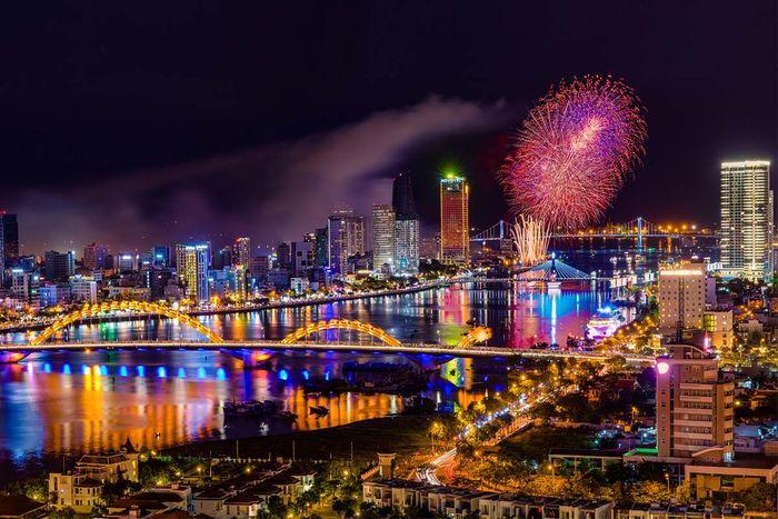 Thời tiết Đà Nẵng tháng 1 ngắm thành phố về đêm