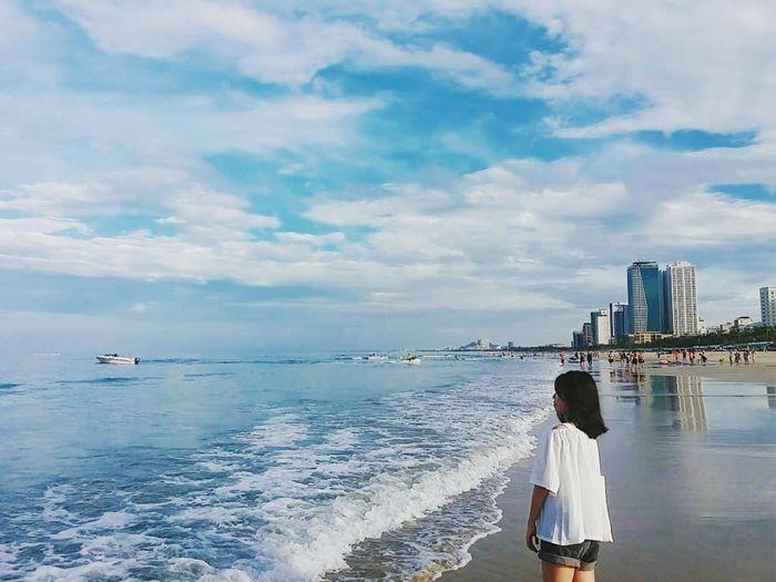 Thành phố Đà Nẵng với nhiều bãi biển đẹp