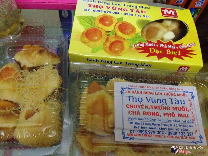 Bánh bông lan trứng muỗi tiệm Thọ