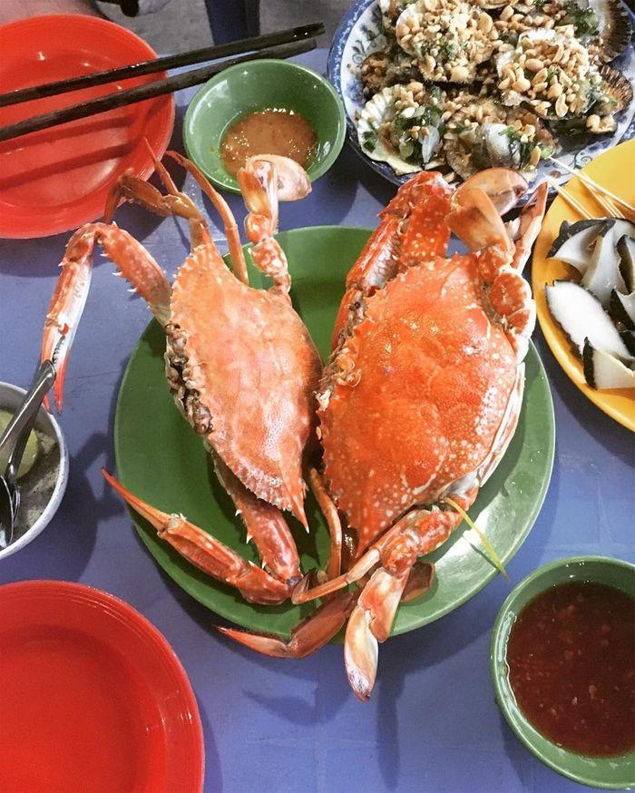 Ngất ngây với hải sản biển Mũi Né