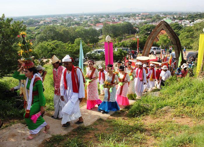 Lễ hội ở Tháp Po Klong Garai