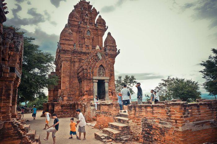 Vẻ đẹp Tháp Po Klong Garai Ninh Thuận