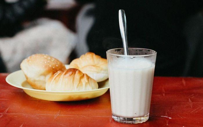 Bánh ngọt sữa đậu nành nhẹ nhàng