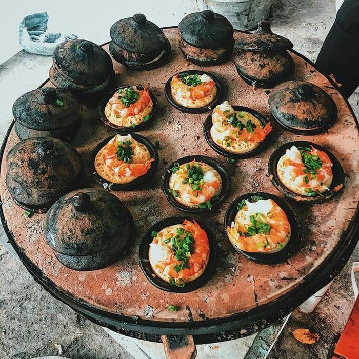 Đặc sản Ninh Thuận, bánh căn