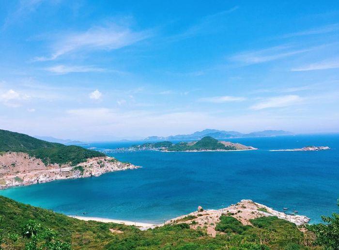 Thời tiết mùa hè tuyệt đẹp ở Ninh Thuận