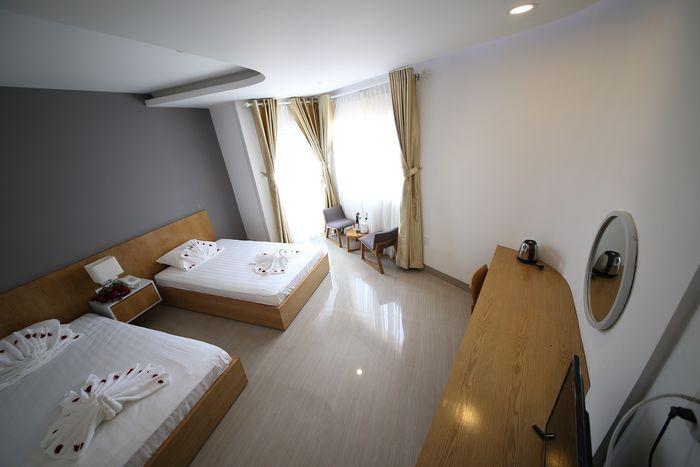 Phòng nghỉ ở sailing hotel Phú Quốc