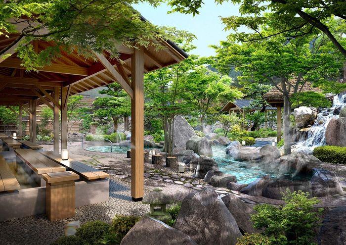 Trải nghiệm tắm suối ở Yoko Onsen