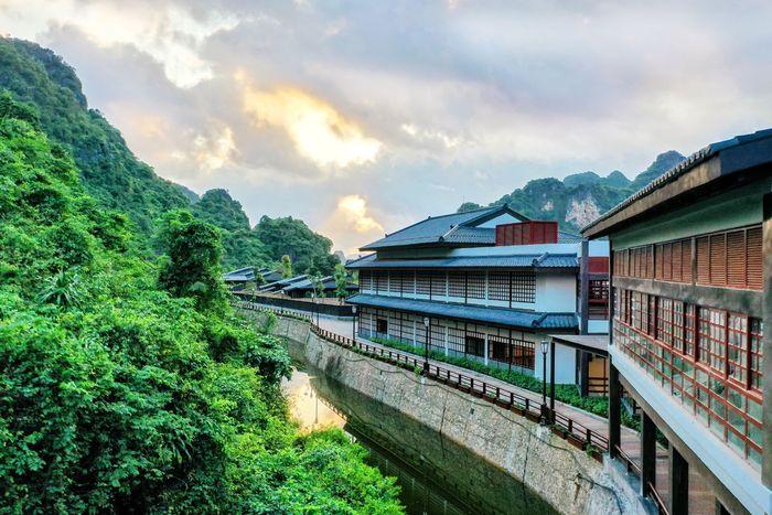 Không gian yên bình ở Yoko Onsen Quang Hanh