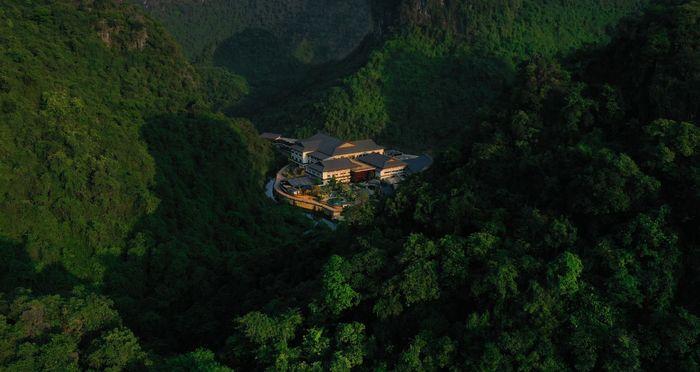 Khu nghỉ dưỡng tọa lạc nơi núi đồi