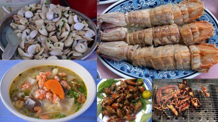 Hải sản tươi ngon trên bán đảo Sơn Trà