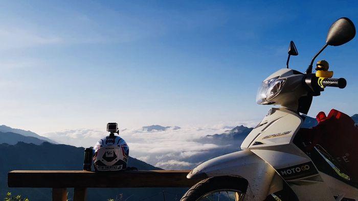Săn mây Tây Bắc bằng xe máy