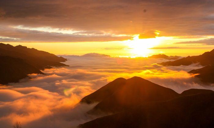 Hùng vĩ rừng núi Tà Xùa