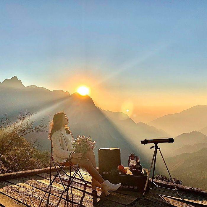 Cảnh sắc trên đỉnh đèo Ô Quy Hồ