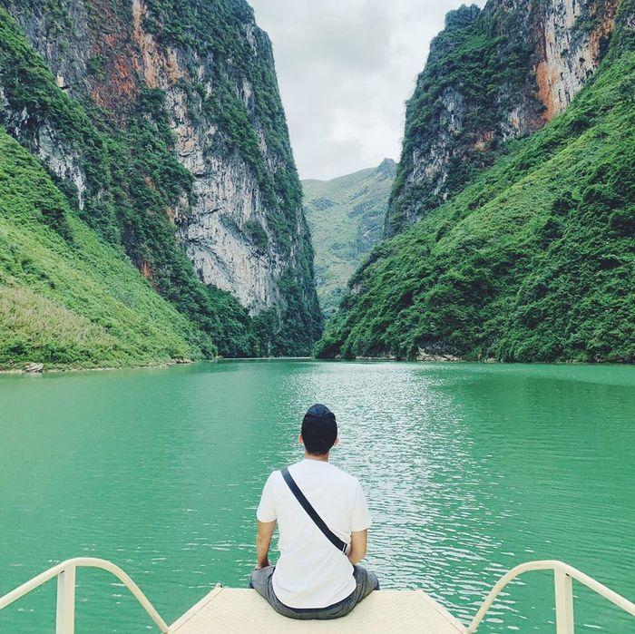 Sông Nho Quế ôm trọn chân đèo Mã Pí Lèng
