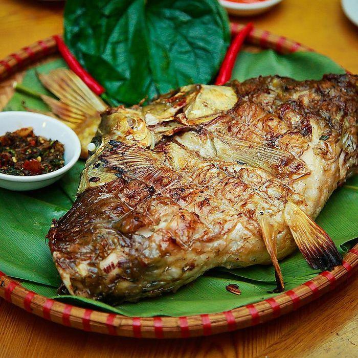 Pa pỉnh tộp - món cá đặc sản Điện Biên