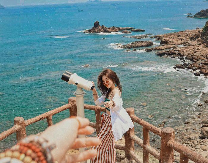 Biển Quy Nhơn đẹp tựa đảo Jeju. Rất thích hợp để check-in