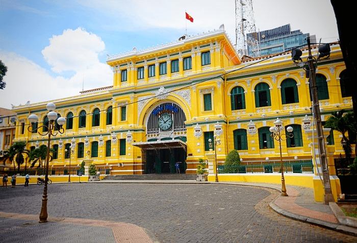 Bưu điện trung tâm thành phố Sài Gòn