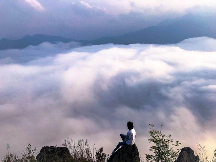 Săn mây trên đỉnh Sapa