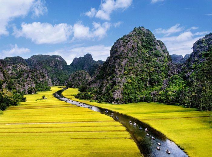 Tam Cốc - Ninh Bình tháng 6