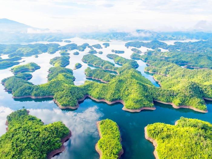 Cảnh đẹp ấn tượng ở Hồ Tà Đùng