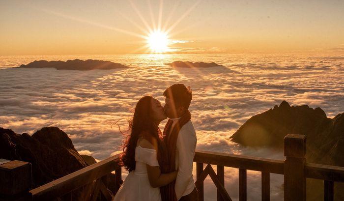 Săn mây trên đỉnh Phan Xi Păng
