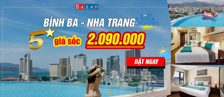 Du lịch Nha Trang Bình Ba
