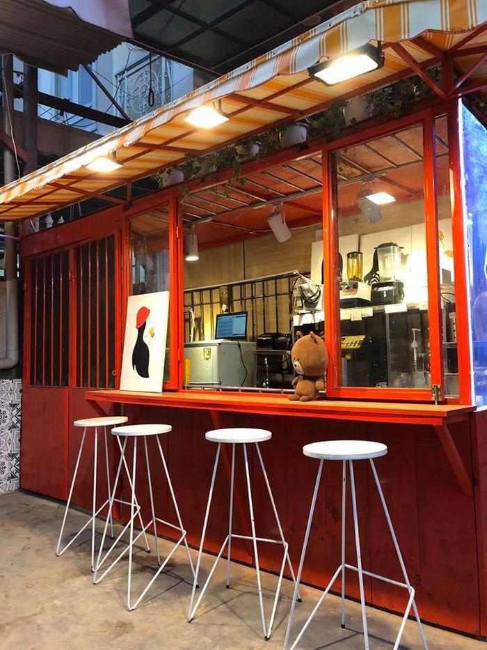 Không gian ấn tượng của quán trà sữa Heekcaa ở Đà Lạt