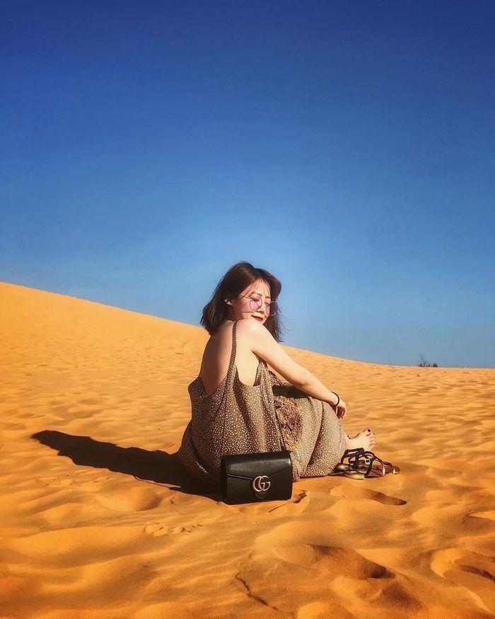 Các đồi cát Phan Thiết rực nắng gió