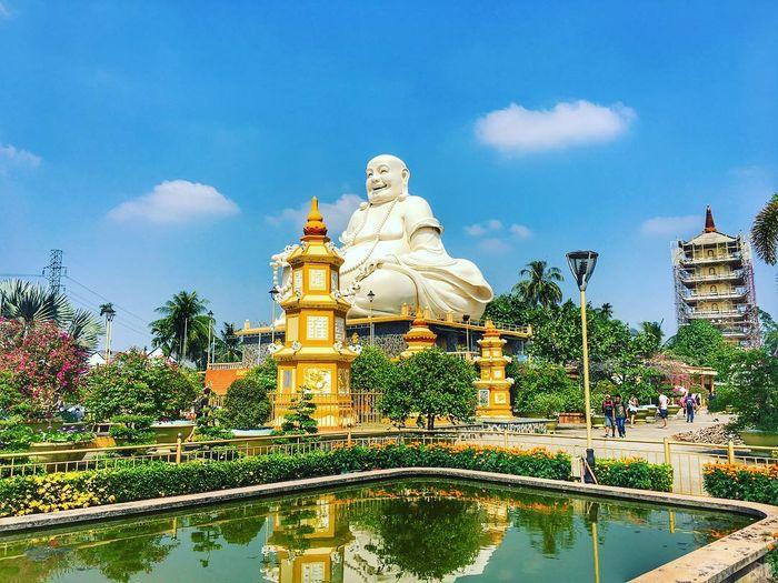 Chùa Vĩnh Tràng nổi tiếng ở Tiền Giang