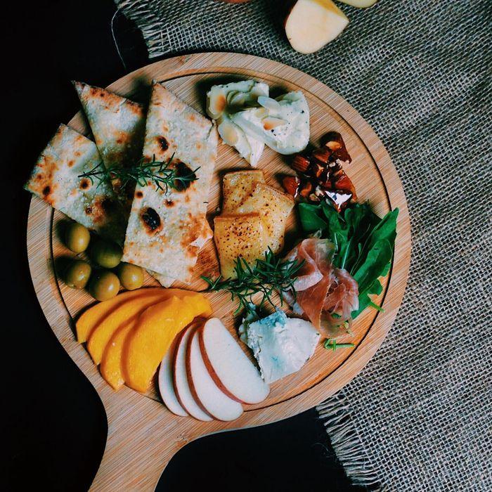 Món ăn được trình bày đẹp mắt