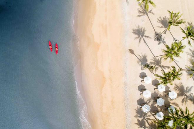 Cảnh biển yên bình hấp dẫn du khách