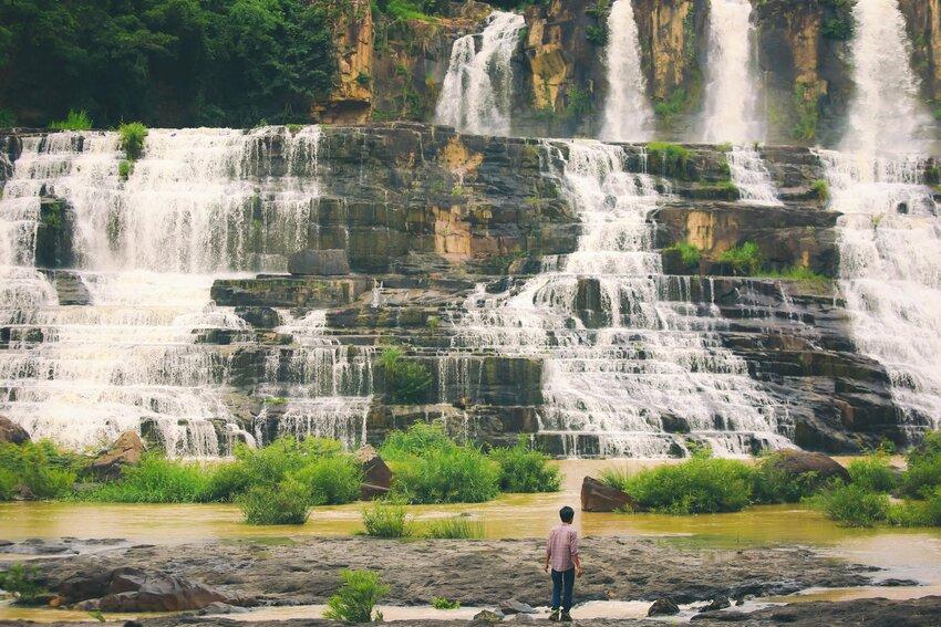 Thác Pongour trong tour du lịch Đà Lạt của Lets Việt Travel