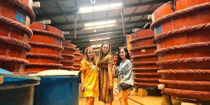 Nhà thùn nước mắm ở Phú Quốc